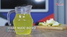 Tự chế nước súc miệng không hóa chất, thổi bay mùi hôi miệng khó chịu