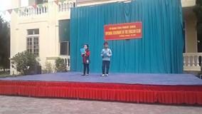 Học sinh tiểu học ở Hà Tĩnh nói tiếng Anh như gió khiến dân mạng thán phục