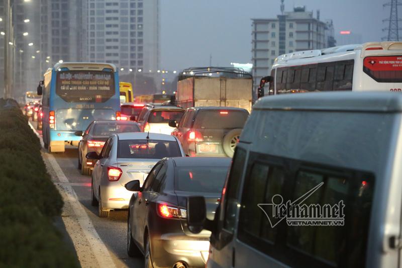 Tắc đường,Pháp Vân - Cầu Giẽ,Hà Nội