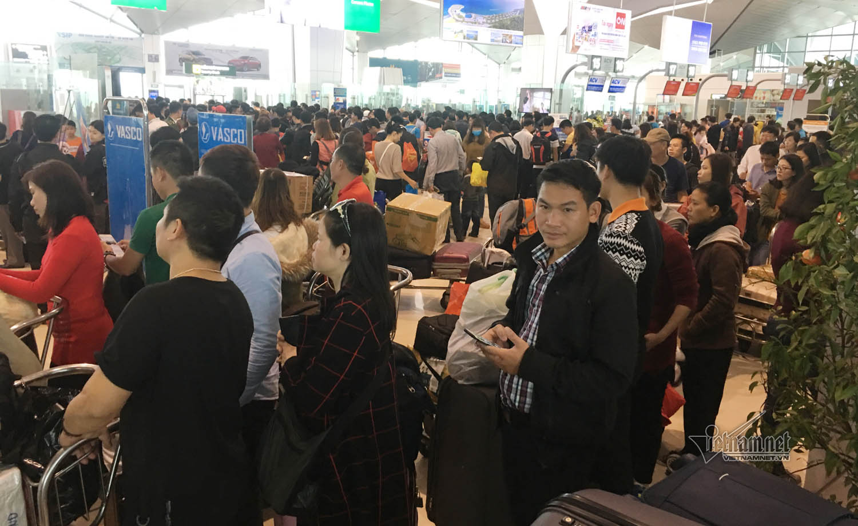 sân bay Vinh,trễ chuyến,Nghệ An