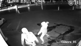 """Trộm vô tình ném gạch vào đầu đồng bọn gây """"sốt"""" MXH Trung Quốc"""