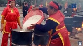 Bánh dày 3 tấn dâng giỗ tổ Hùng Vương
