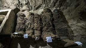 Bí ẩn rùng rợn nghĩa địa cổ Ai Cập