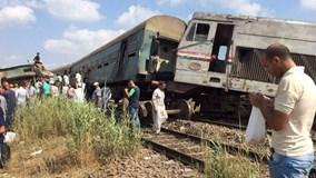 Ai Cập: Tai nạn tàu hỏa, 25 người thương vong