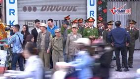 3 vòng an ninh khép kín bảo vệ đại lễ cầu an chùa Phúc Khánh