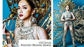 Hương Giang Idol thắng phần thi tài năng tại Hoa hậu Chuyển giới