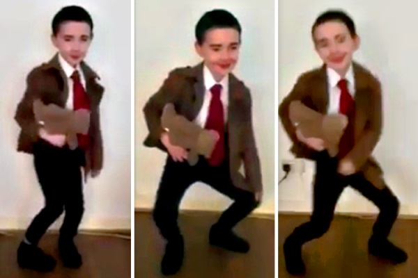 Xuất hiện 'bản sao' của Mr. Bean vô cùng hoàn hảo từ ngoại hình cho đến thần thái!-1