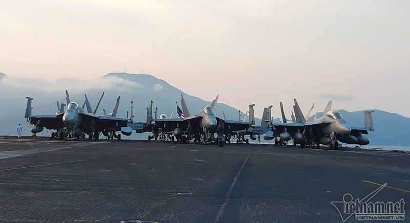 Tàu sân bay Mỹ,Đà Nẵng,tàu sân bay