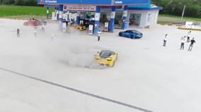 """Cường """"Đô-la"""" thử drift Ferrari 458 Italia độ độc nhất Việt Nam"""