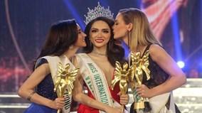 Khoảnh khắc Hương Giang Idol trở thành tân Hoa hậu Chuyển giới Quốc tế 2018
