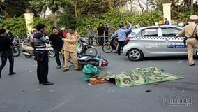 Tai nạn xe buýt tại Hà Nội, 1 người tử vong tại chỗ