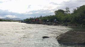 Gia Lai: Tìm kiếm 3 học sinh mất tích nghi bị đuối nước