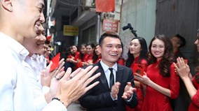 Khắc Việt và vị hôn thê DJ nóng bỏng tổ chức đám hỏi