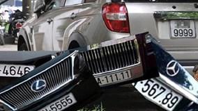CSGT thông tin cách thức đấu giá biển số xe đẹp