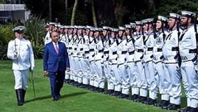Lễ đón chính thức Thủ tướng Nguyễn Xuân Phúc tại New Zealand