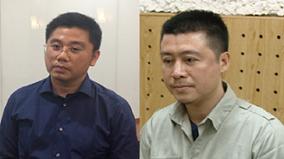 """Hai """"ông trùm"""" Nguyễn Văn Dương và Phan Sào Nam sau khi bị bắt"""