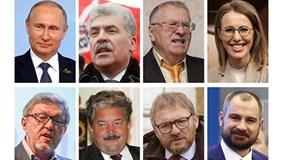 Cân tài 8 ứng viên tổng thống Nga trước giờ G