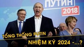 Ông Putin hài hước khi nói về việc tranh cử cho nhiệm kỳ kế tiếp