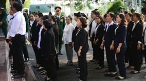 Người dân TP.HCM tiếc thương cố Thủ tướng Phan Văn Khải