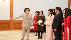 Sinh viên ưu tú Việt Nam được thăm phủ Tổng thống Hàn Quốc