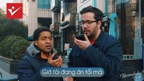 Cười ngất với 2 chàng tây bị 'troll' khi gọi xe qua ứng dụng