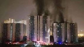 Cháy chung cư: Làm gì để thoát hiểm?