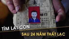 Xúc động trước kỳ tích nhờ cộng đồng mạng, tìm được con sau 24 năm thất lạc