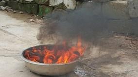 Xác định nguyên nhân nước giếng cháy ngùn ngụt khi châm lửa