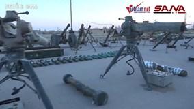 Xem phe nổi dậy Syria nộp vũ khí do Mỹ, Israel sản xuất