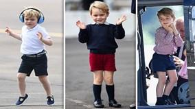Vì sao Hoàng tử nước Anh George luôn mặc quần short?