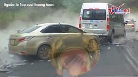 Tai nạn nghiêm trọng tại dốc Cun do xe container chở đá mất phanh