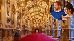 Bên trong nhà nguyện cổ nơi diễn ra đám cưới Hoàng tử Anh Harry