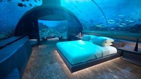 Khu nghỉ dưỡng xa hoa dưới lòng đại dương độc nhất thế giới