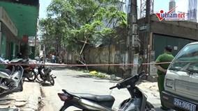 Hà Nội: Rơi giàn cẩu lau kính, 2 người bị thương