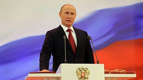 Những hình ảnh khó quên trong lễ nhậm chức Tổng thống lần 4 của ông Putin