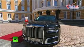 Khám phá 'siêu xe' limousine do Nga tự sản xuất dành riêng cho Putin