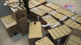 6000 bao thuốc lá lậu bị bắt giữ ở Hà Nội