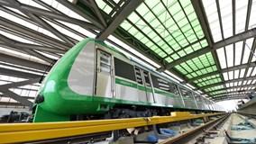 Bộ trưởng GTVT đi thử tàu đường sắt Cát Linh - Hà Đông