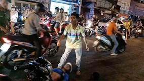 Nhân chứng kể phút nhóm hiệp sĩ bị cướp đâm gục trên phố