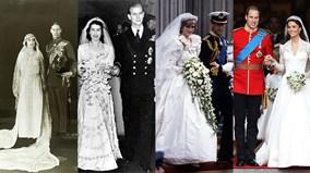 Những hình ảnh hiếm về hôn lễ Hoàng gia Anh trong 1 thế kỷ qua