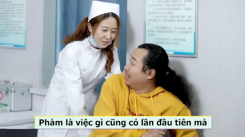 ''Cảm nắng'' nữ bác sỹ trẻ đẹp và cái kết cười rung rốn