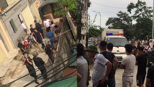Nghệ An: Hàng trăm cảnh sát vây bắt nhóm đối tượng...