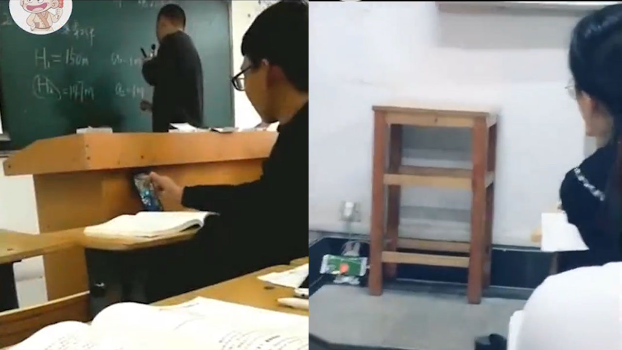 Cười rung rốn: 1001 kiểu sinh viên ''ngang nhiên'' dùng điện thoại trong lớp