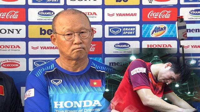 Thầy Park tiết lộ lí do gọi Đình Trọng lên U22 Việt...