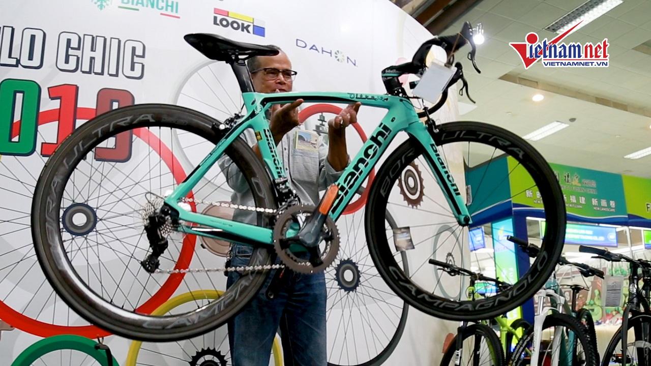 Chiêm ngưỡng chiếc xe đạp giá ''siêu khủng'', đắt ngang...