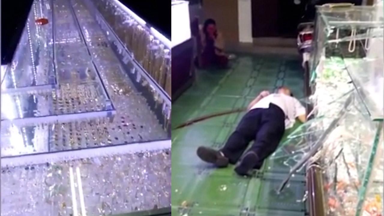 Cướp tấn công chủ tiệm vàng giữa trận bóng đá U22 Việt...
