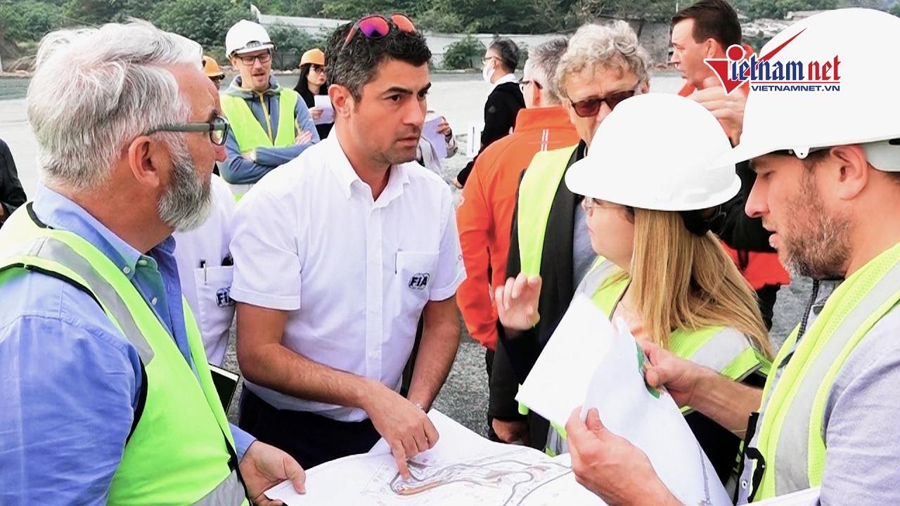 Giám đốc F1 bất ngờ trước tiến độ thần tốc của đường...