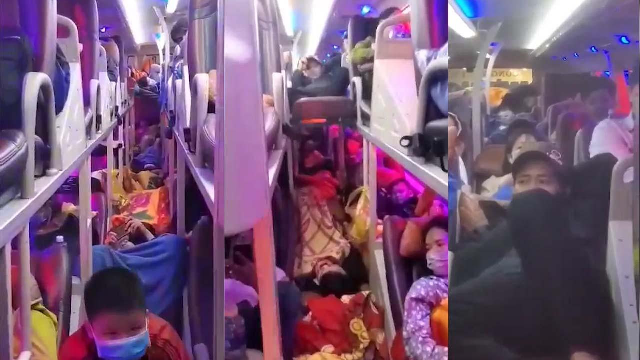Đồng Nai: Xe khách 40 chỗ nhồi nhét tới 82 người về...