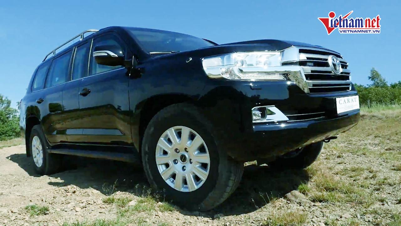 Toyota Land Cruiser độ kéo dài, bọc thép chống đạn