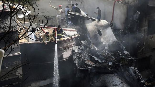 Tiết lộ lý do không ngờ khiến máy bay Pakistan rơi...